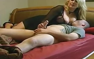Expert, chubby light-haired is making enjoy with her married buddy, in front of a hidden camera